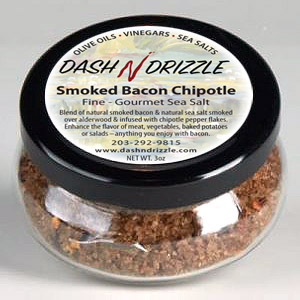 Smoked Bacon Chipotle Gourmet Sea Salt